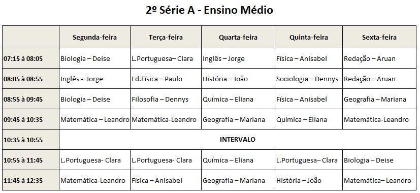 2ª Série A EM